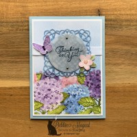 Hydrangea Hill Card by Stampin