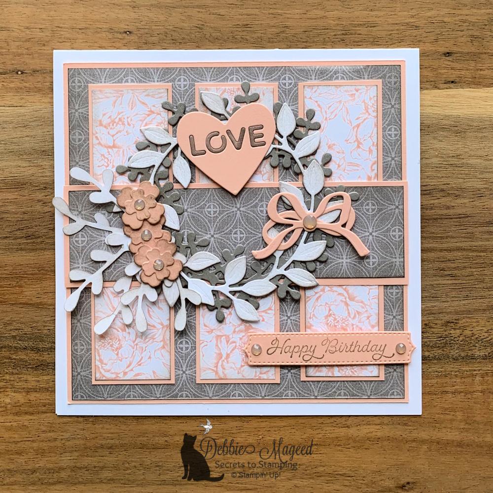 Arrange A Wreath Birthday Card for the Pals Blog Hop
