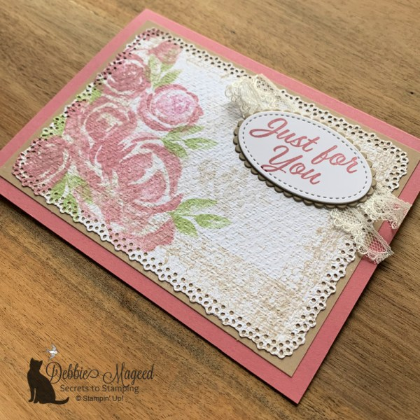 Beautiful Friendship Card by Stampin' Up!