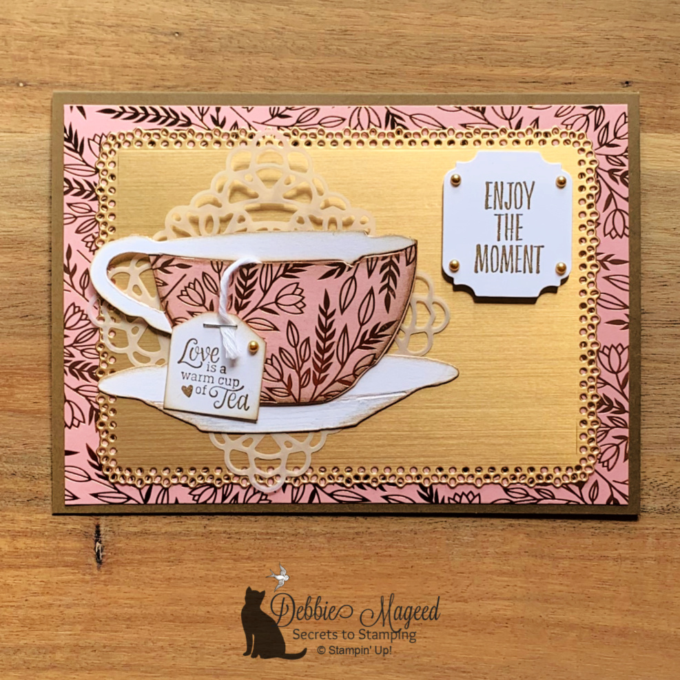 Enjoy the Moment With Tea Together for the Cardz 4 Gal Challenge