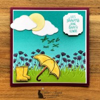 Under My Umbrella Card by Secrets To Stamping