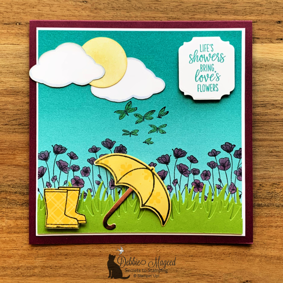 Thinking of You Card with Under My Umbrella for Cardz 4 Galz