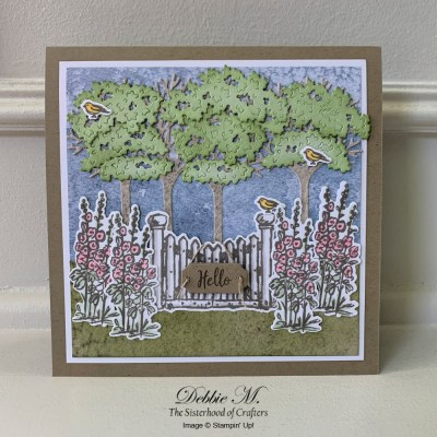 Grace's Garden and Its Inspiring Canopy for the Sisterhood of Crafters