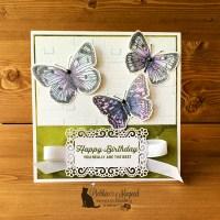 Butterfly Brilliance Birthday Card for Cardz 4 Galz