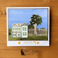 Alternative Farmhouse Christmas Card for Cardz 4 Galz