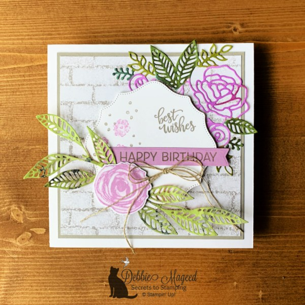 Artistically Inked Birthday Card by Secrets To Stamping