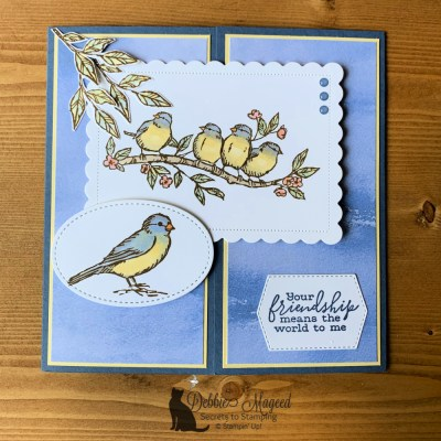 Free As A Bird Friendship Card for Make My Monday