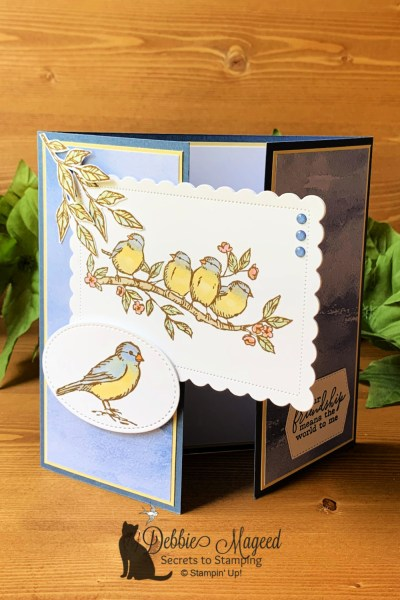 Free As A Bird Friendship Card by Secrets To Stamping