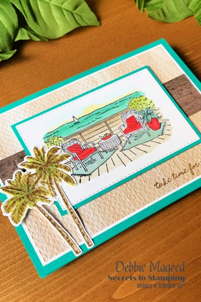Seaside View Card by Secrets To Stamping