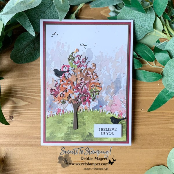 Autumn Beauty of Friendship Card by Secrets To Stamping