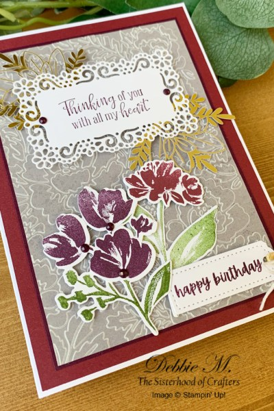 Art Gallery Birthday Card by Secrets To Stamping