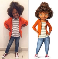 """Rihanna as """"Tip"""" in Home"""