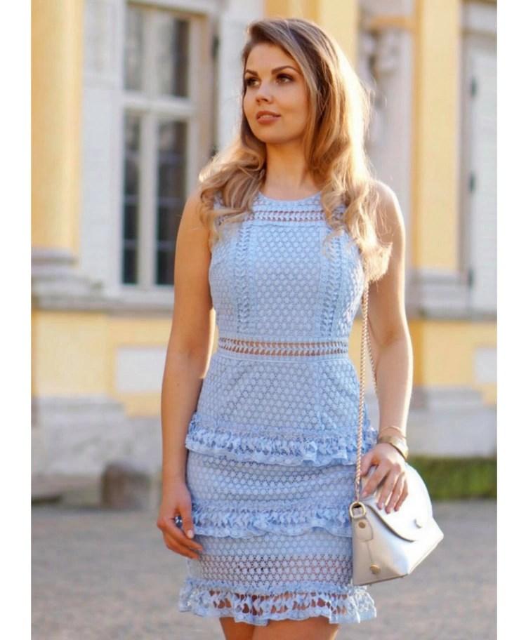 df7ba690d2 5a1255b5b8bf Tilda Sukienka z Koronki na Ramiączkach - Secret Wish Boutique  ...