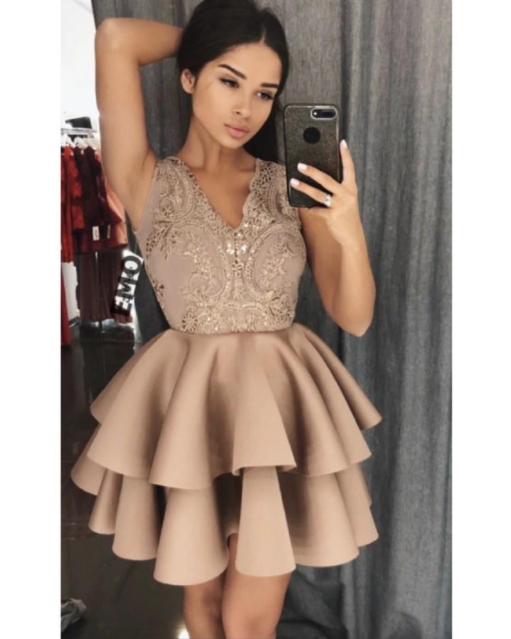 b2fafd04ad sukienka koronkowa beż z koronki - Secret Wish Boutique  3