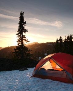 A Dome Camping Tent