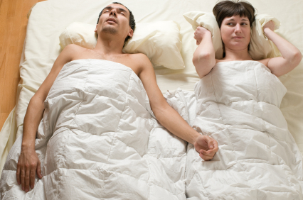Snoring can adversely affect your sex life