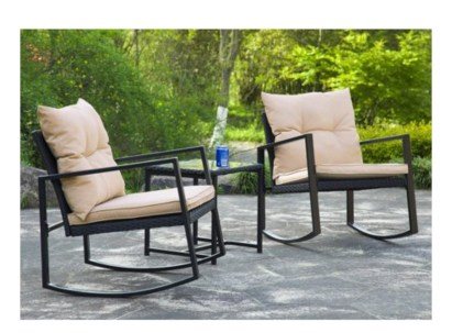 A patio furniture - Wicker chair