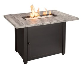 A patio furniture - Bryson LP Gas outdoor fire pit