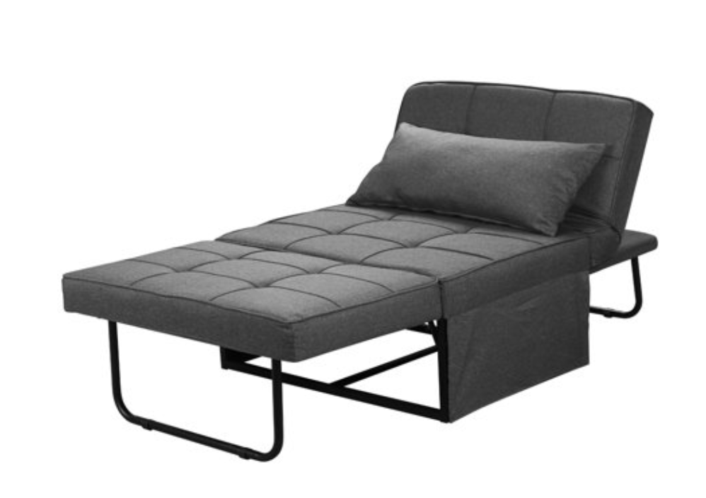 Small Space Furniture: A Ottoman sleeper guest chair sofa