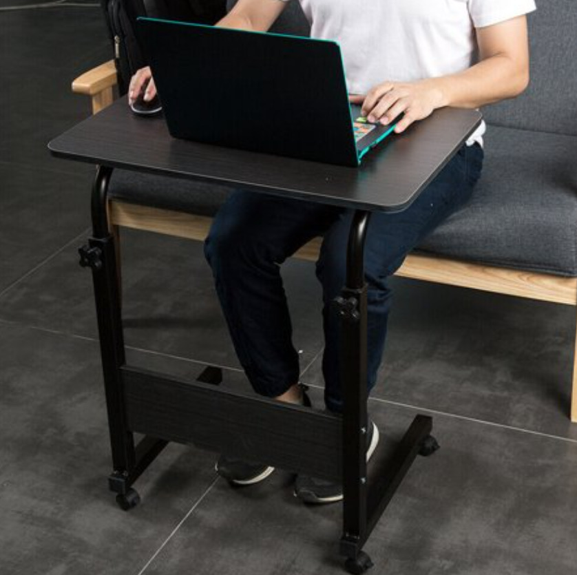 Rolling Laptop Cart for Standing and Sitting