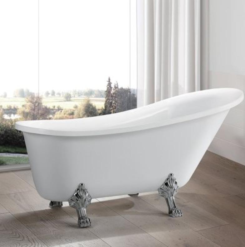 Vanity Art 69'' x 30'' Freestanding Soaking Bathtub