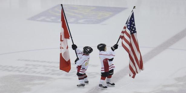 WJC – kids with flags