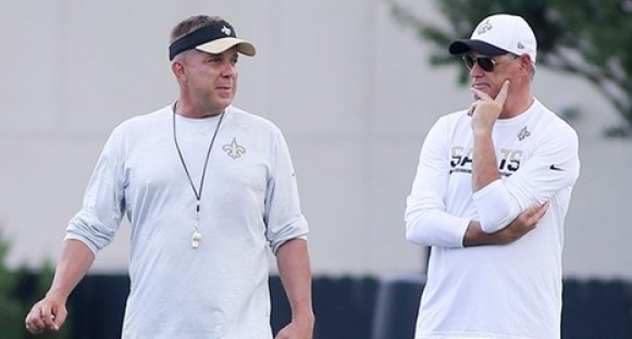 Sean Payton and Mickey loomis