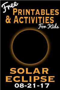 image about Printable Solar Eclipse Glasses titled Absolutely free Sun Eclipse Printables and Things to do - 8/21/17