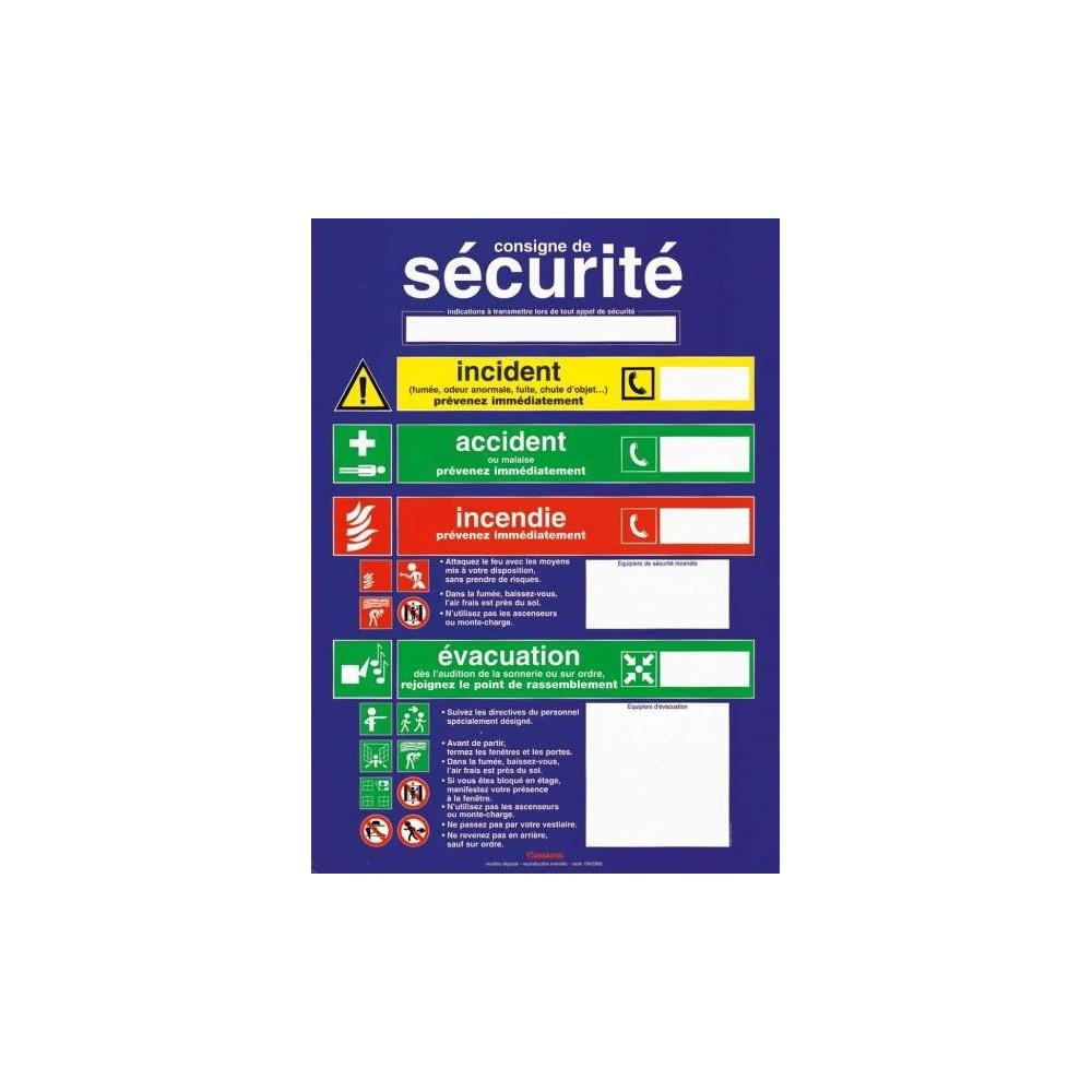 Consigne Securite