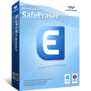 >40% Off Coupon code Wondershare SafeEraser for Windows(Business License)