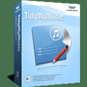 >40% Off Coupon code Wondershare TidyMyMusic for Mac
