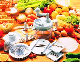 Miracle Kitchen Plus Special Machine Which Can Cut Any Kind