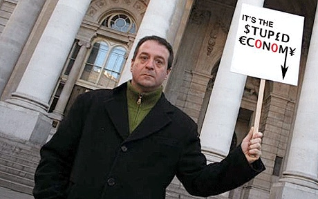 Mark Thomas interview for 'It's the Stupid Economy ...