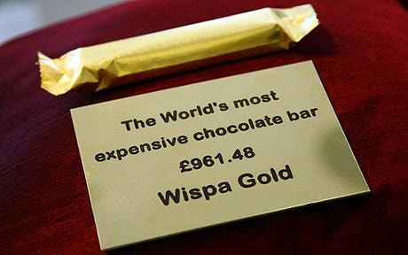Wispa Gold goes on sale - for £961.48