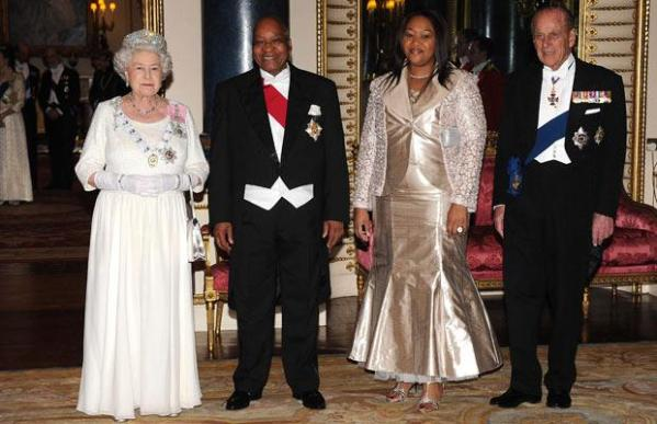 South African President Jacob Zuma visits Britain with his