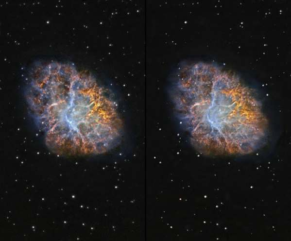 3D space pictures: stereo images of moons, galaxies and ...