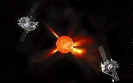 Nasa solar flare space storm warning: a British scientist ...