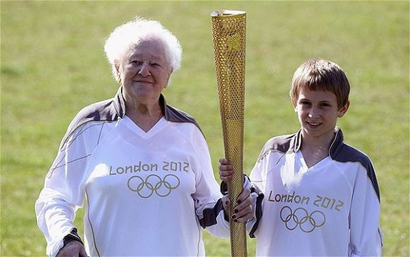 London 2012 Olympics: Diana Gould, 99, will be oldest ...