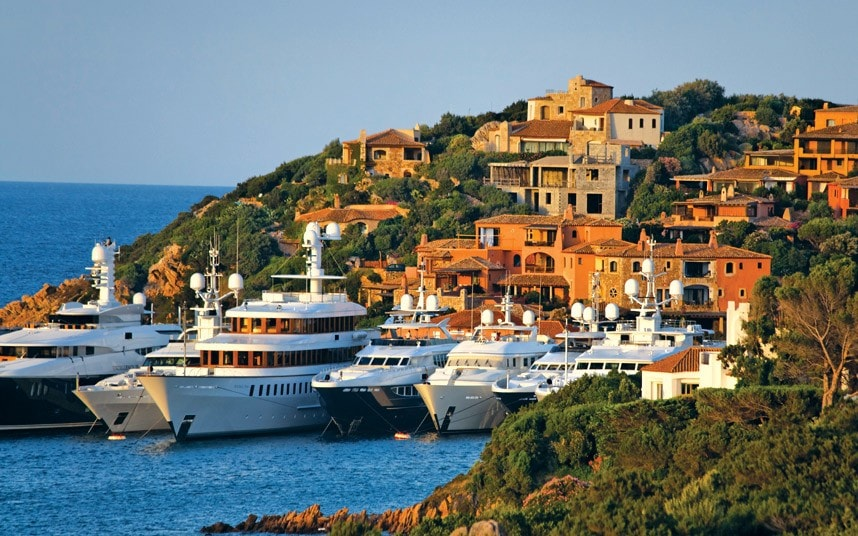 Italys Super Rich Yachters Sail Away From Taxman Telegraph
