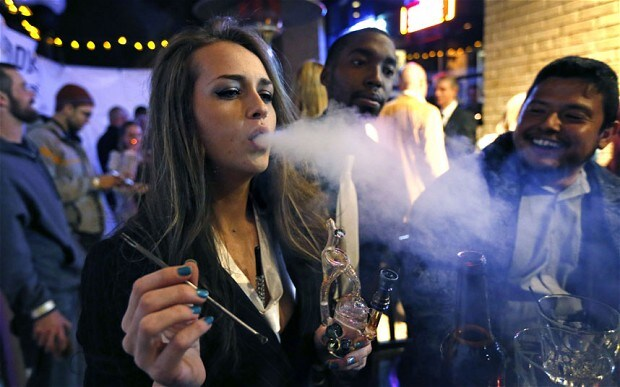 The legalisation of cannabis in Colorado makes it possible to buy the drug - but not smoke it in public