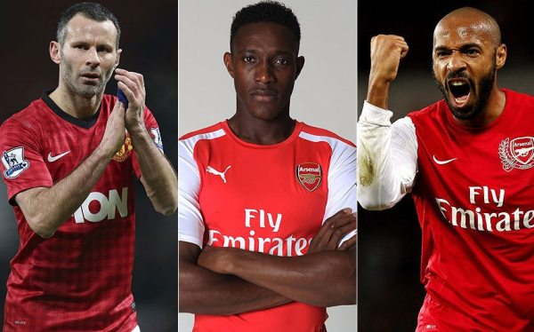 Danny Welbeck reveals Thierry Henry stands alongside Ryan ...