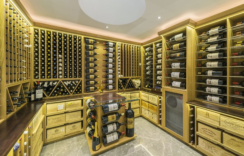 Interior design  17 cool features to make your dream home   Telegraph 1  Who hasn t got a private wine cellar these days  But only the most  extravagant connoisseur can aspire to a cellar with a glass ceiling  so  they can watch