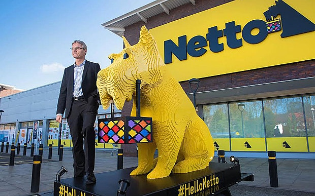 Is this the best job in the world  Bright Bricks builds giant Netto     Per Bank  chief executive of Netto s parent company  Dansk Supermarked