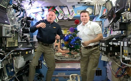 Video Astronauts wish the world Merry Christmas from