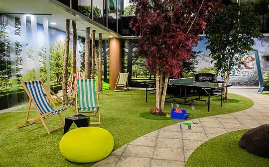 Inside Google S London Belgrave House Office