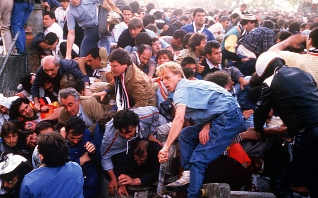 Heysel disaster of 1985 is football's forgotten tragedy and ...