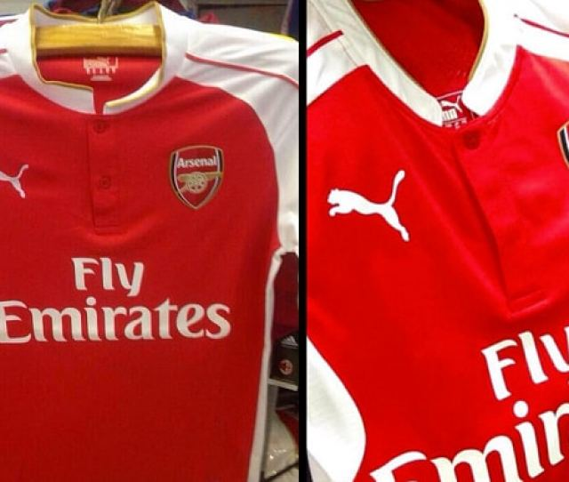 Leaked New Arsenal Shirt Photo Twitter