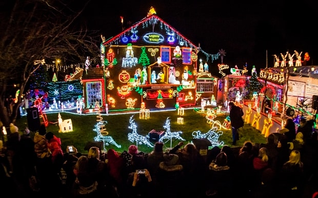 Outrageous Christmas Light Displays