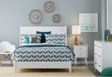 Clean & Contemporary Bedroom