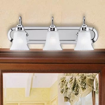 Westinghouse Lighting 3 Light Vanity Light & Reviews   Wayfair on Wayfair Bathroom Sconces id=41173